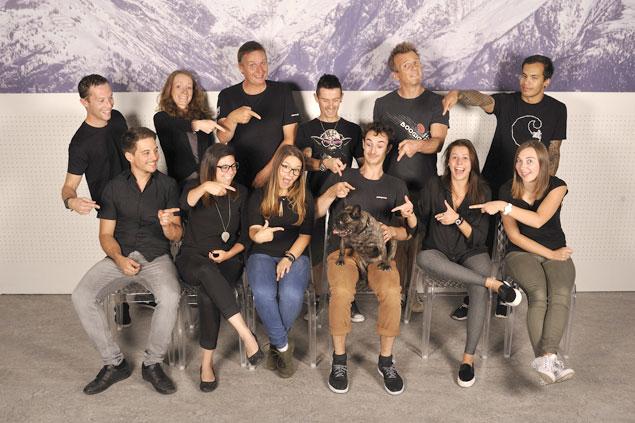 notre  u00e9quipe de parachutistes professionnels
